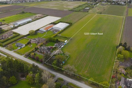 R2571630 - 12331 GILBERT ROAD, Gilmore, Richmond, BC - House with Acreage