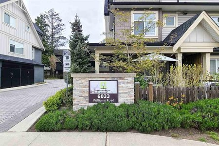R2572275 - 8 6033 WILLIAMS ROAD, Woodwards, Richmond, BC - Townhouse