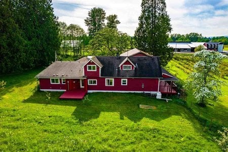 R2580545 - 24250 88 AVENUE, County Line Glen Valley, Langley, BC - House with Acreage