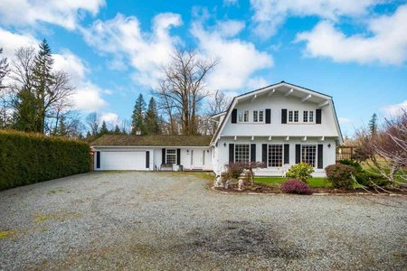 R2585666 - 321 248 STREET, Otter District, Langley, BC - House with Acreage