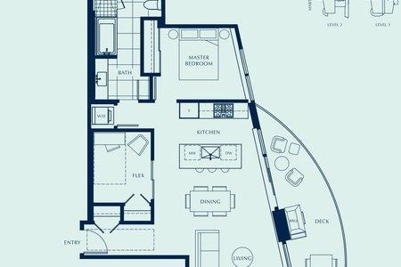R2587581 - 1604 1500 MARTIN STREET, White Rock, White Rock, BC - Apartment Unit