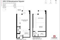 509 10 RENAISSANCE SQUARE, New Westminster - R2591099