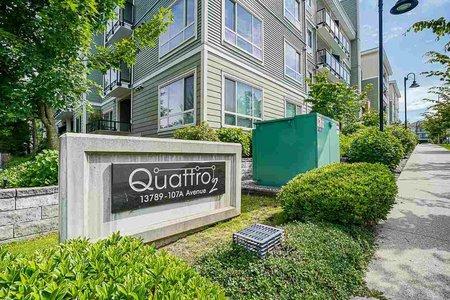 R2591123 - 213 13789 107A AVENUE, Whalley, Surrey, BC - Apartment Unit