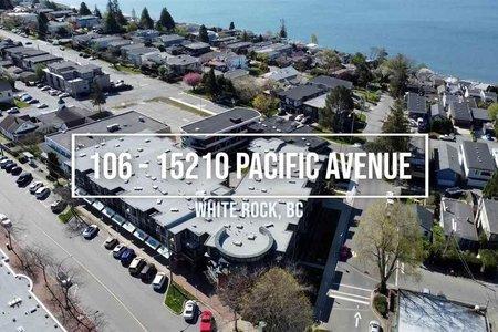 R2591452 - 106 15210 PACIFIC AVENUE, White Rock, Surrey, BC - Apartment Unit