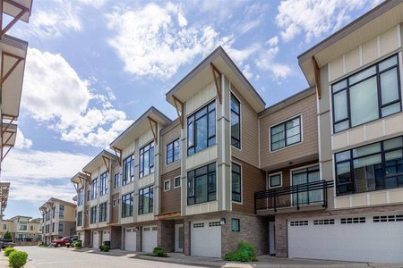 R2592418 - 55 9989 E BARNSTON DRIVE, Fraser Heights, Surrey, BC - Townhouse