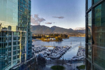 R2593962 - 803 588 BROUGHTON STREET, Coal Harbour, Vancouver, BC - Apartment Unit