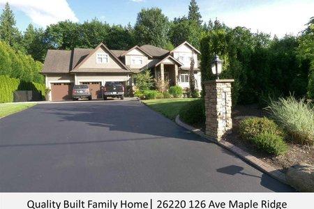 R2595589 - 26220 126 AVENUE, Websters Corners, Maple Ridge, BC - House/Single Family