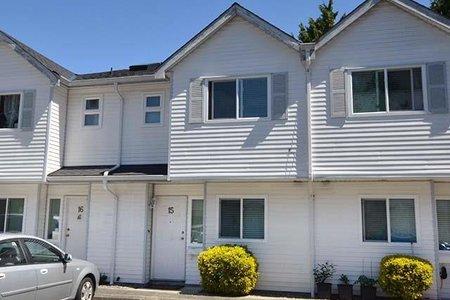 R2597434 - 15 4220 STEVESTON HIGHWAY, Steveston South, Richmond, BC - Townhouse