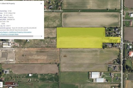 R2598022 - 12191 GILBERT ROAD, Gilmore, Richmond, BC - House with Acreage