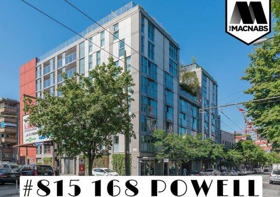 815 168 POWELL STREET, Vancouver - R2599942