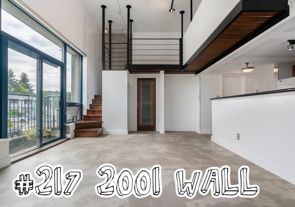 217 2001 WALL STREET, Vancouver - R2601895