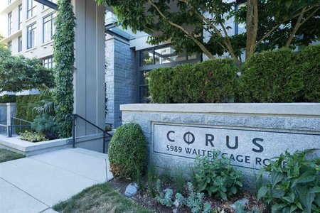 R2603802 - TH8 5991 WALTER GAGE ROAD, University VW, Vancouver, BC - Apartment Unit