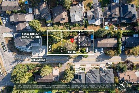 R2610603 - 11562 MILLAR ROAD, Royal Heights, Surrey, BC - House/Single Family