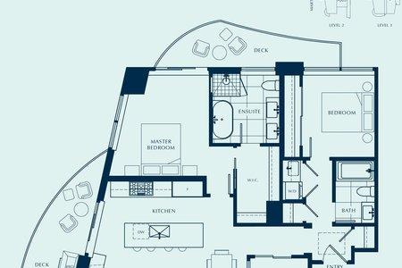 R2611123 - 1802 1501 FOSTER STREET, White Rock, Surrey, BC - Apartment Unit