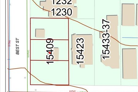 R2615084 - 15409 BUENA VISTA AVENUE, White Rock, White Rock, BC - House/Single Family