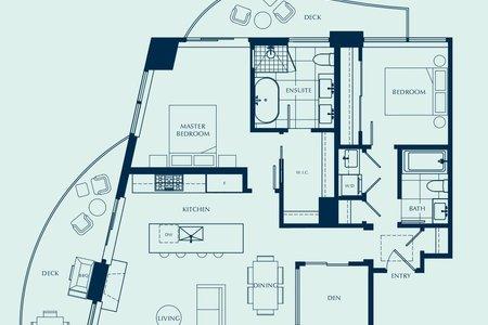 R2616268 - 2002 1501 FOSTER STREET, White Rock, White Rock, BC - Apartment Unit