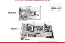 306 1351 CONTINENTAL STREET, Vancouver - R2617899