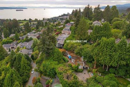 R2619215 - 931 ESQUIMALT AVENUE, Sentinel Hill, West Vancouver, BC - House/Single Family