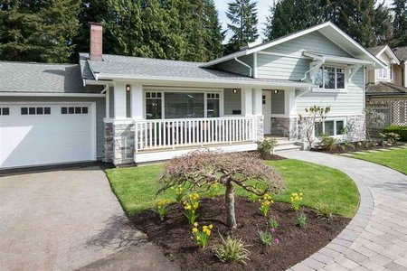 R2620411 - 3545 WELLINGTON CRESCENT, Edgemont, North Vancouver, BC - House/Single Family