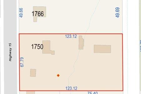 R2622137 - 1750 176 STREET, Hazelmere, Surrey, BC - House with Acreage