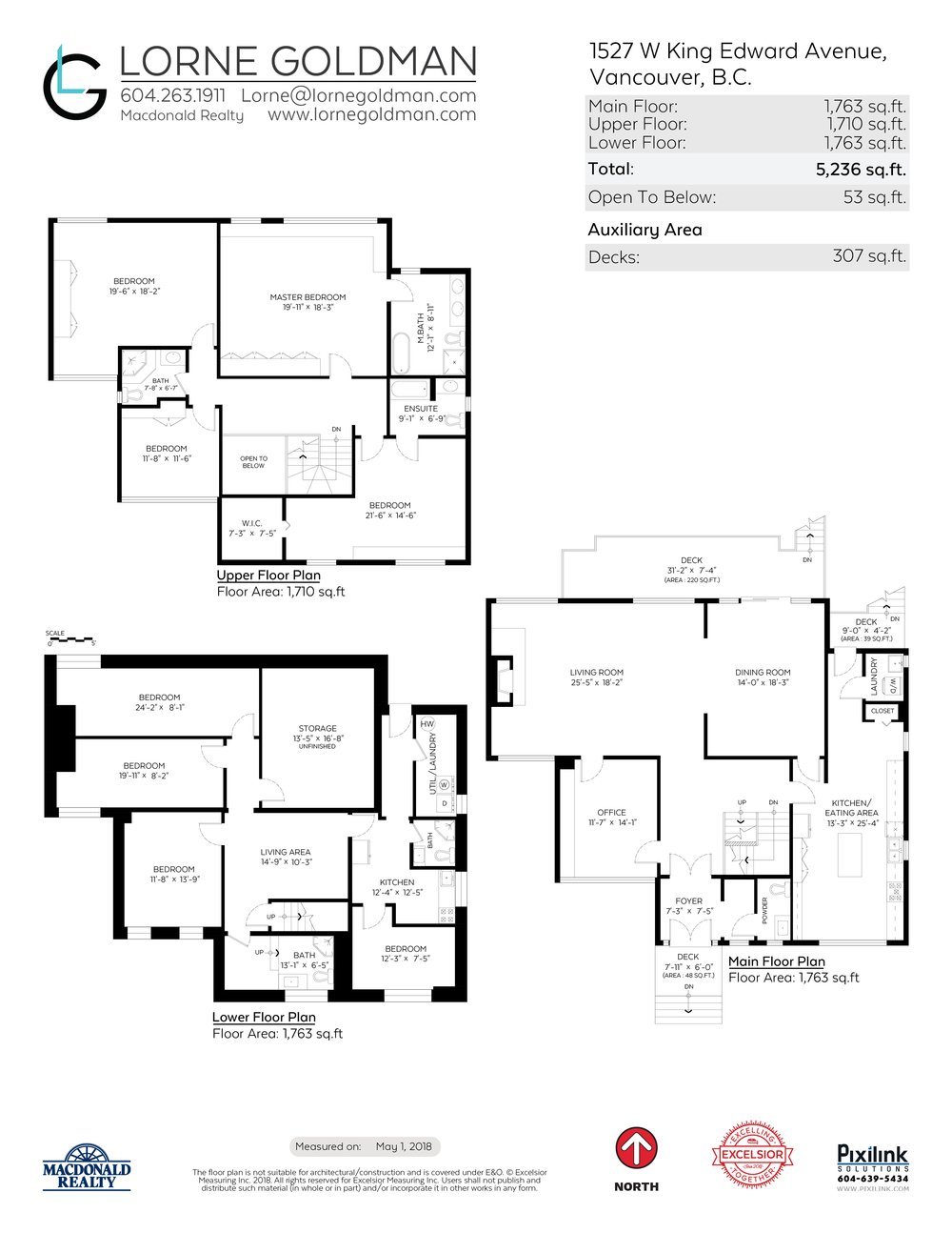 Floor Plan for a 8 Bedroom House in Vancouver