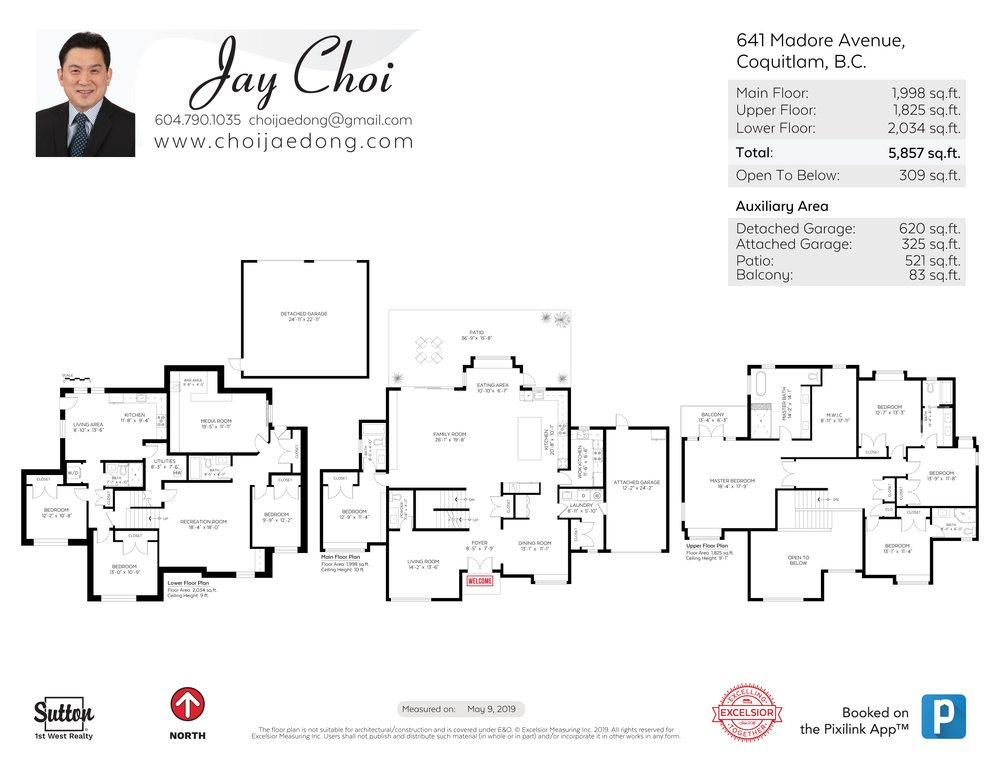 Floor Plan for a 8 Bedroom House in