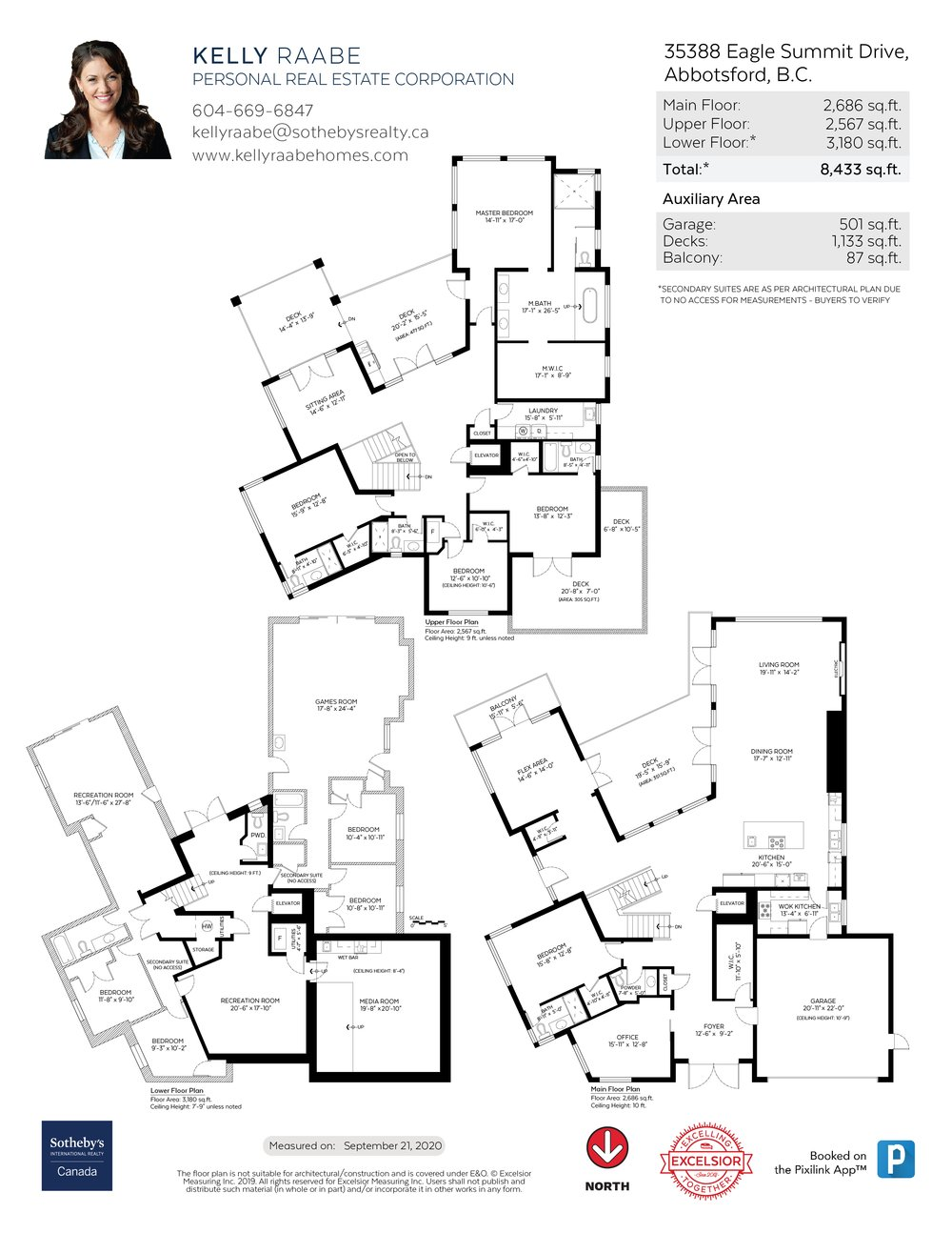 Floor Plan for a 9 Bedroom House in