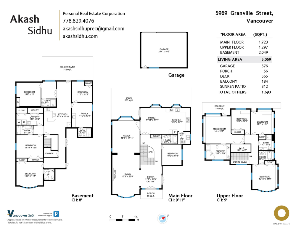Floor Plan for a 12 Bedroom House in Vancouver