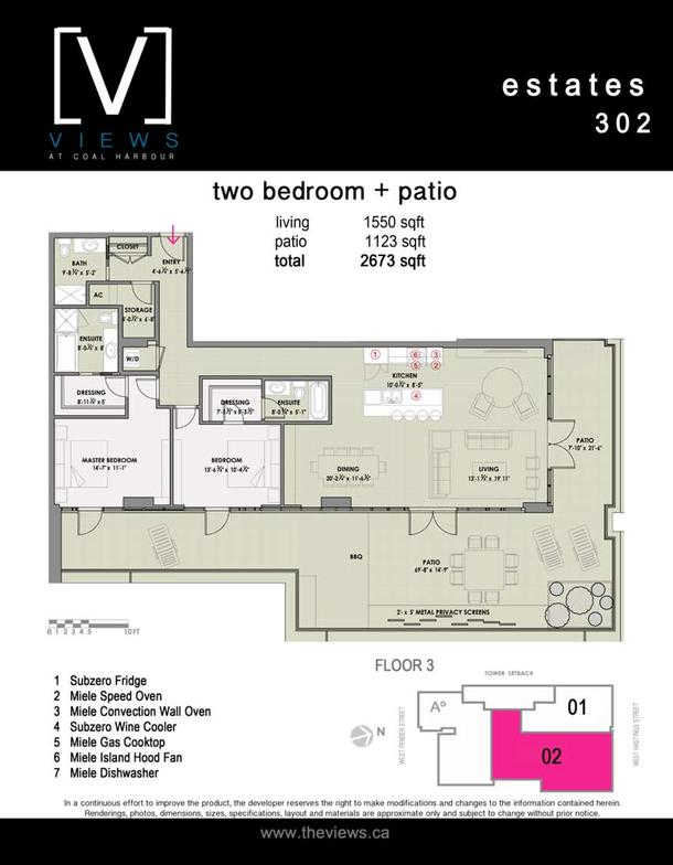 estates 302  2 bedroom plus terrace (PDF)