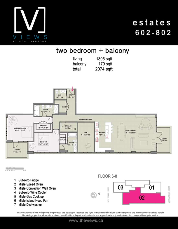 estates 602802  2 bedroom plus balcony (PDF)