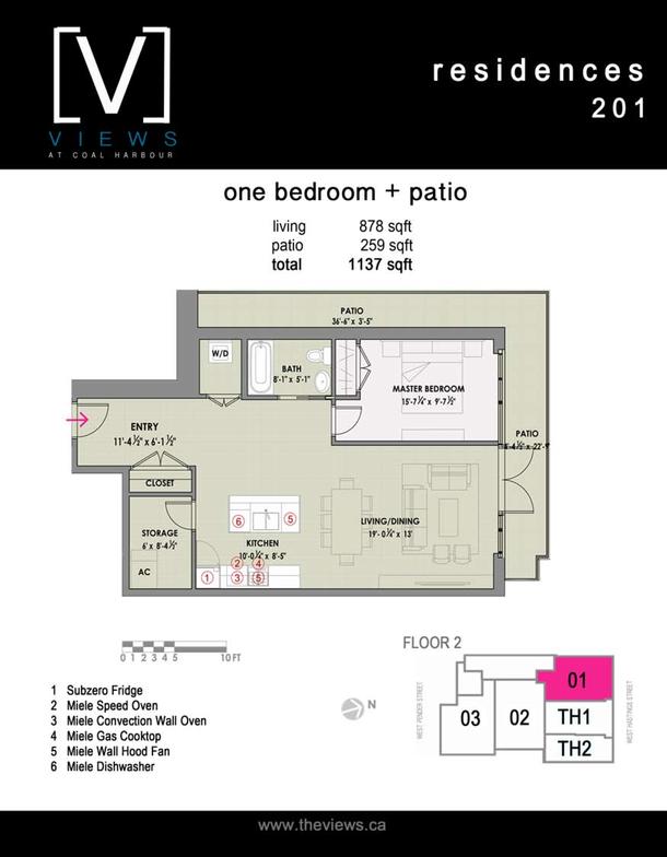 residences 201  1 bedroom plus patio (PDF)