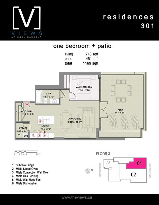 residences 301  1 bedroom plus terrace (PDF)