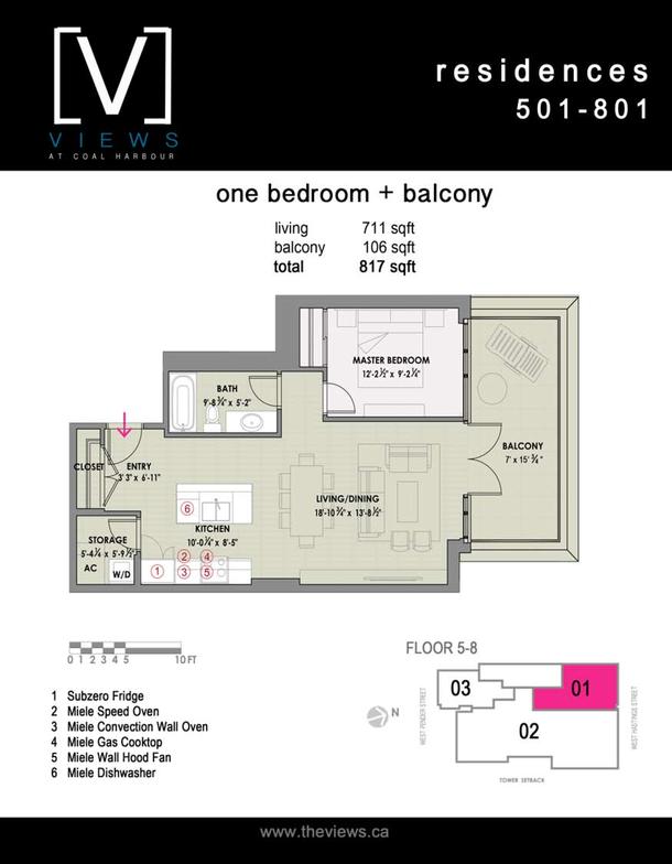 residences 501801  1 bedroom plus balcony (PDF)