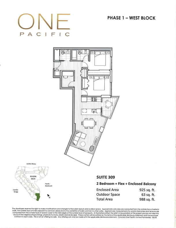 one pacifc 2 bedroom floor plans (PDF) (1)