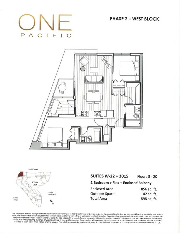 one pacifc 2 bedroom floor plans (PDF) (2)