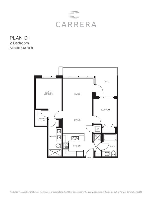 carrera richmond centre condos west tower building 2 plan d1 (PDF)