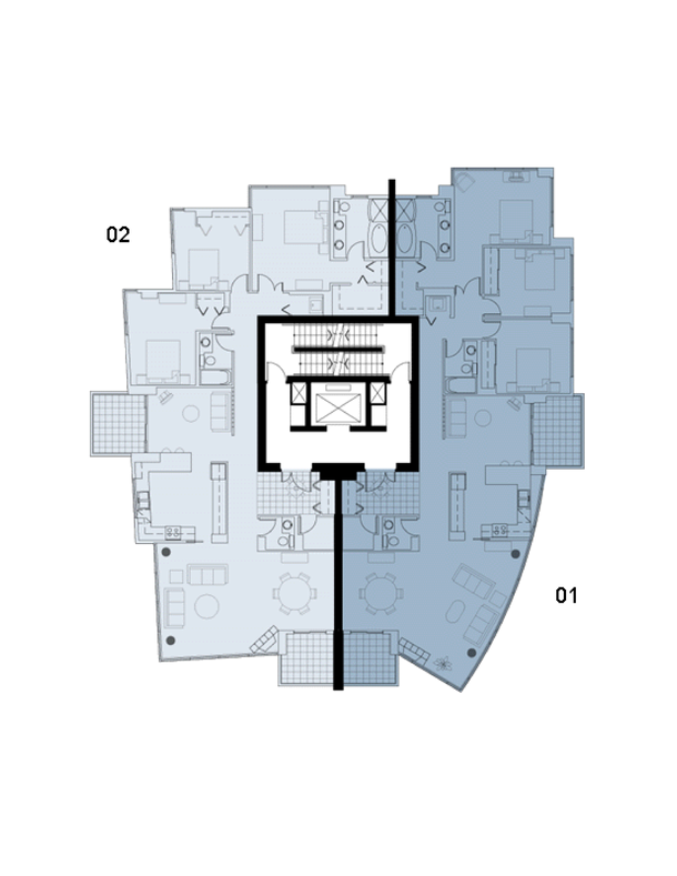1111 marinaside floor plan (PDF)