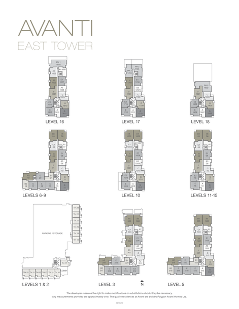 avanti richmond condos phase 3 building plan (PDF)