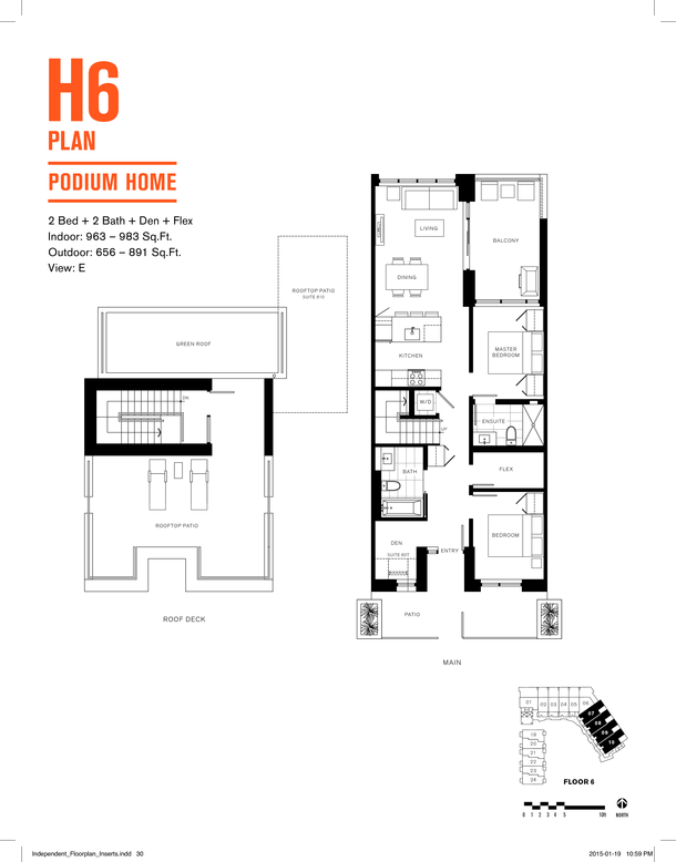 podium 2 bedroom plus rooftop terrace (PDF)