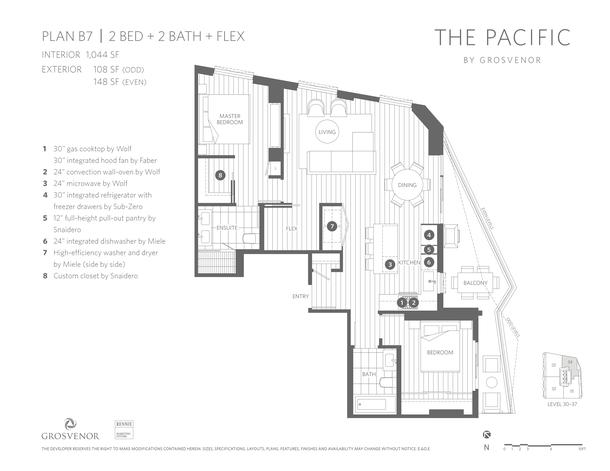pacific floorplans b7 draft rev6 11x85 4136 (PDF)