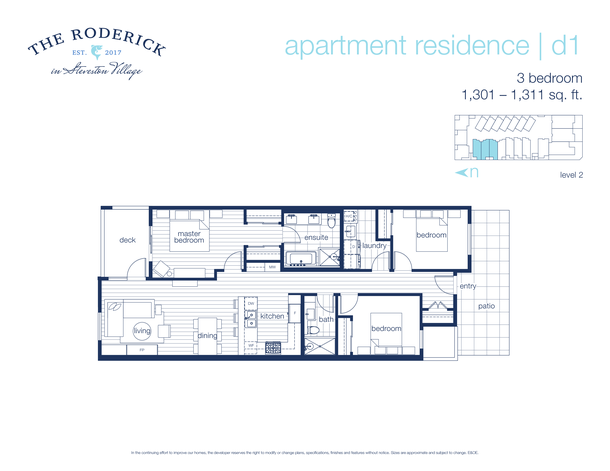 3 bedroom east west facing (PDF)