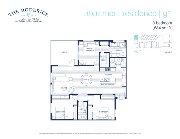 3 bedroom ne corner suite (PDF)