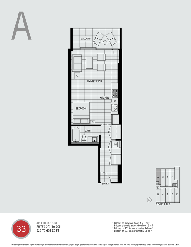 junior one bed plan a (PDF)