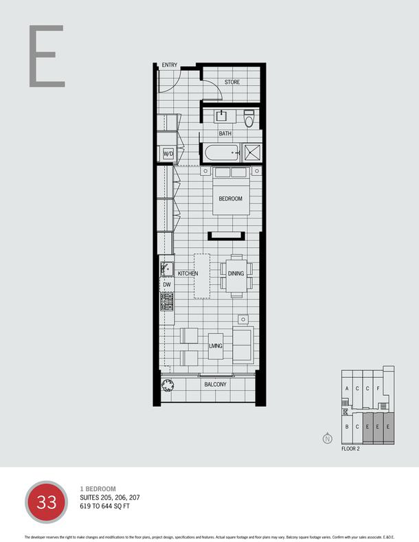 one bedroom plan e (PDF)