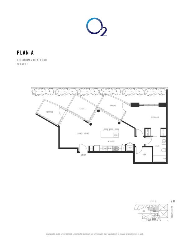 o2 plan a 1 bed  flex 706 sqft (PDF)