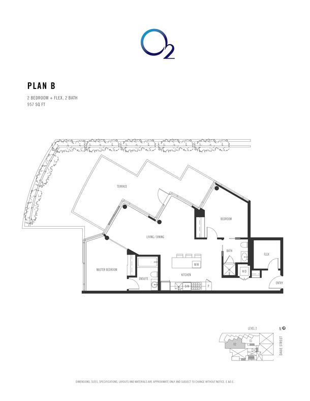 o2 plan b 2 bed  flex 957 sqft (PDF)
