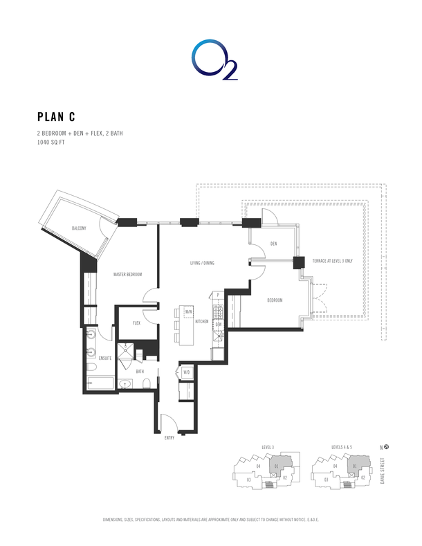 o2 plan c 2 bed  den  flex 1007 sqft (PDF)
