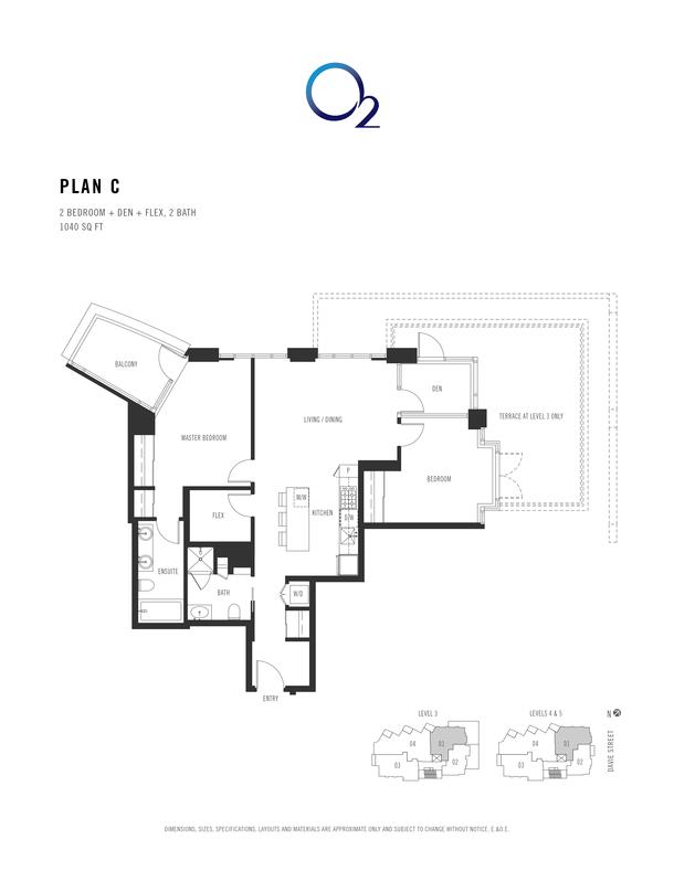 o2 plan c 2 bed  den  flex 1007 sqft (PDF)