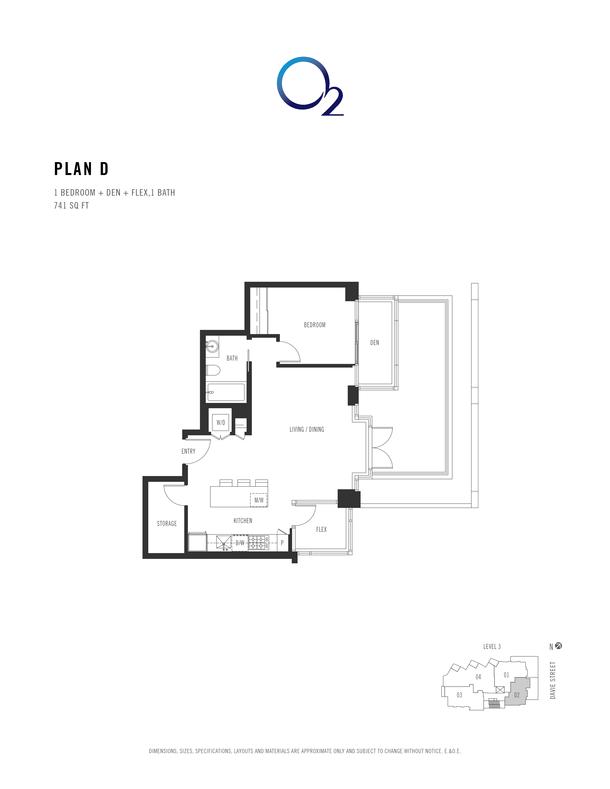 o2 plan d 1 bed  den  flex 718 sqft (PDF)