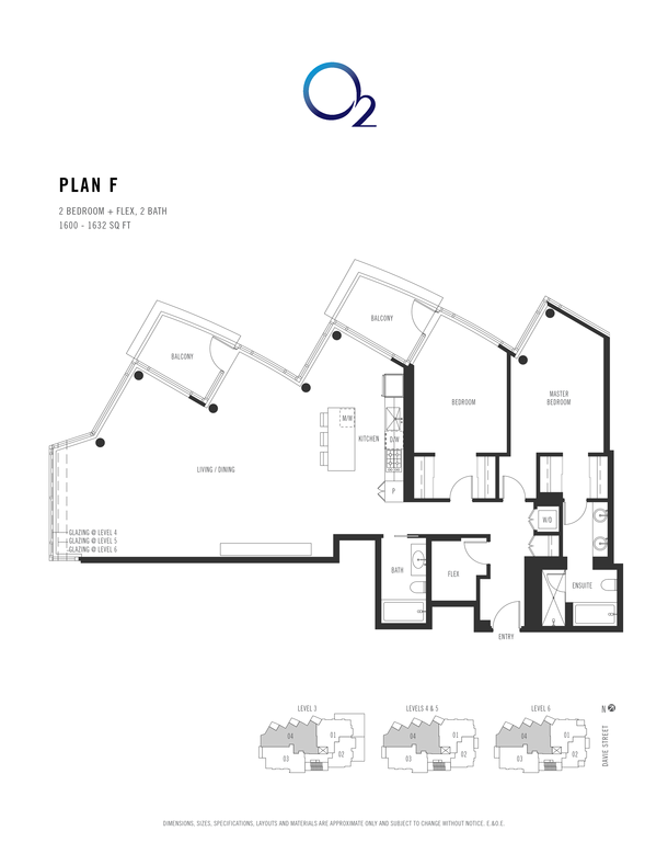 o2 plan f 2 bed  2 bath  flex 15501581 sqft (PDF)